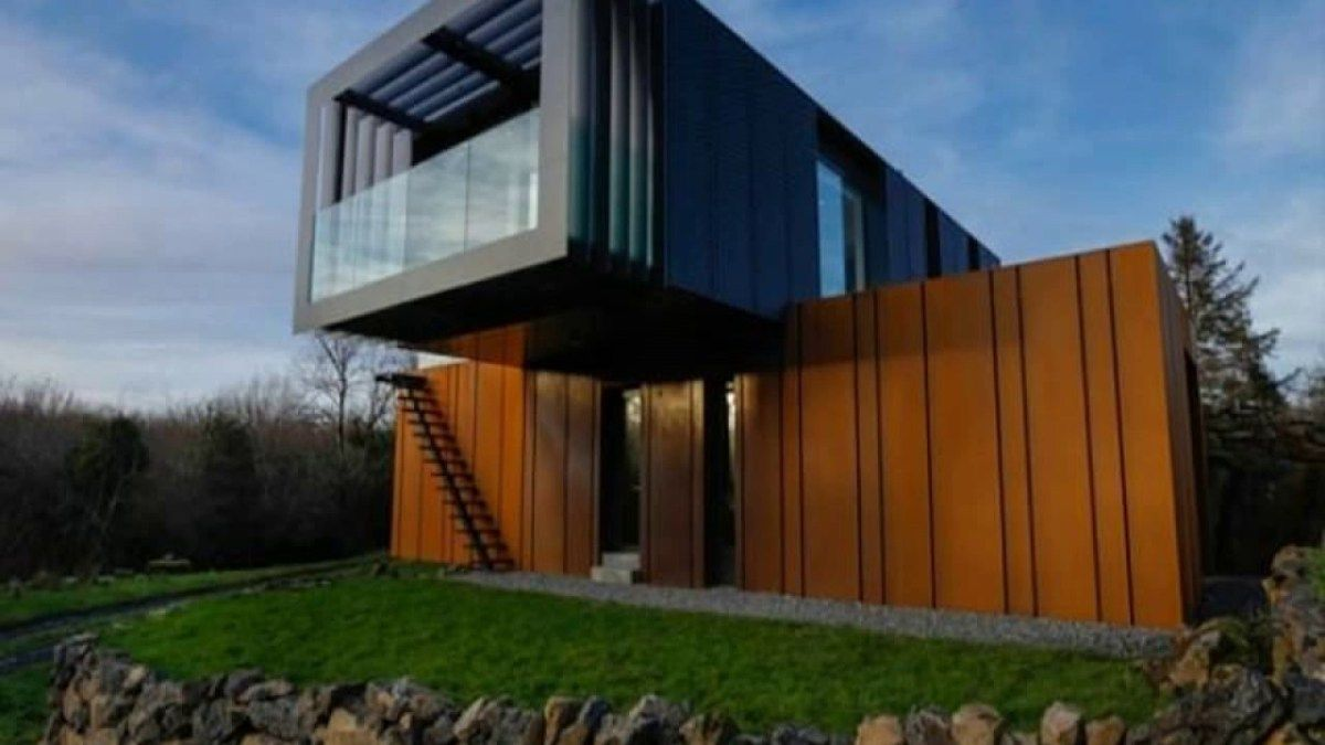 Shipping container house grand designs australia Shipping