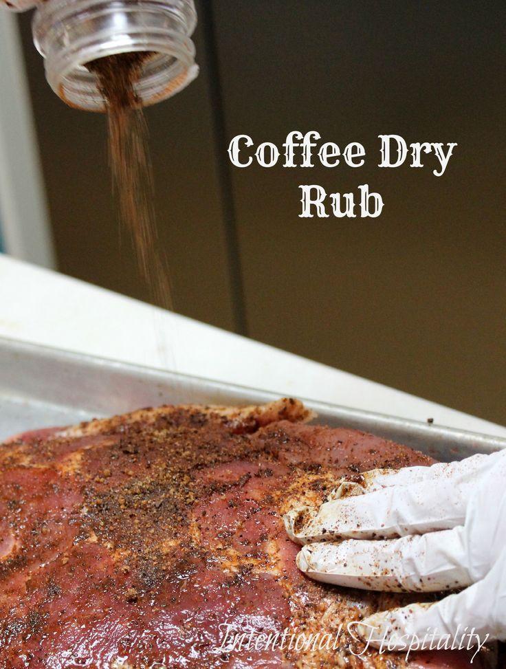 BBQ Coffee Dry Rub For Grilling Rezept Rezepte