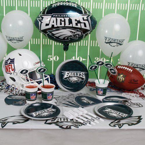 NFL Philadelphia Eagles Party Kit 88Piece List price 5998