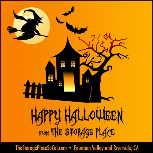 #TSPHoliday Happy Halloween From The Storage Place In Fountain Valley And  Riverside, CA.
