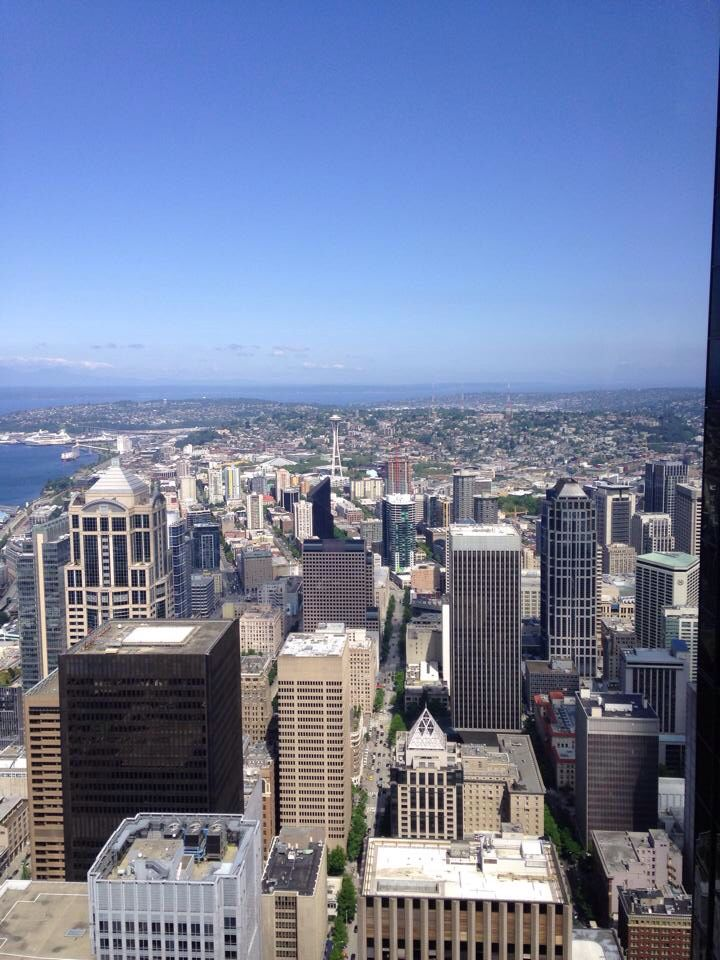 Seattle, Washington. In my opinion, this is the most beautiful city in the continental United States of America.