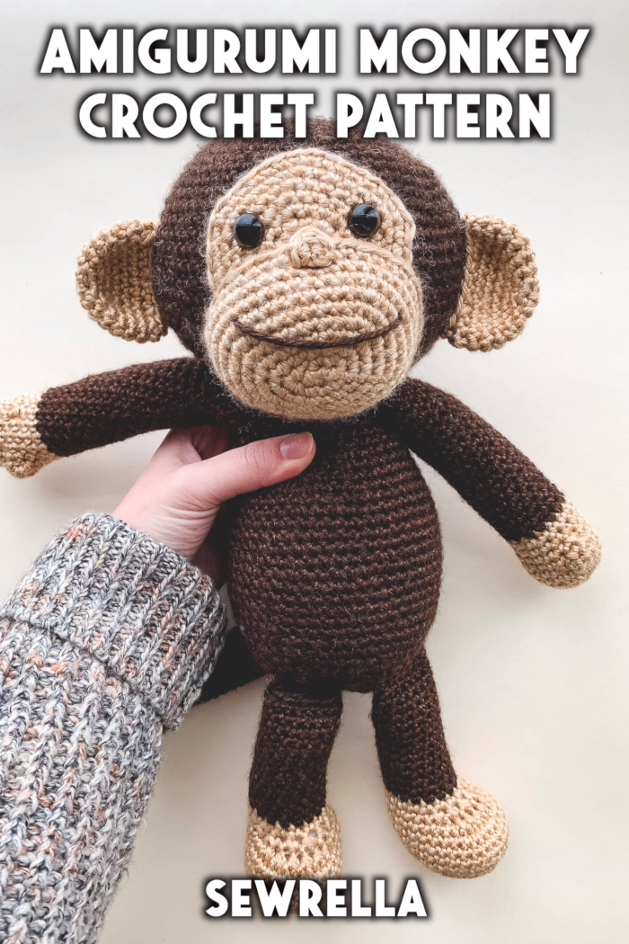 Photo of Crochet Amigurumi Monkey – free pattern & video tutorial
