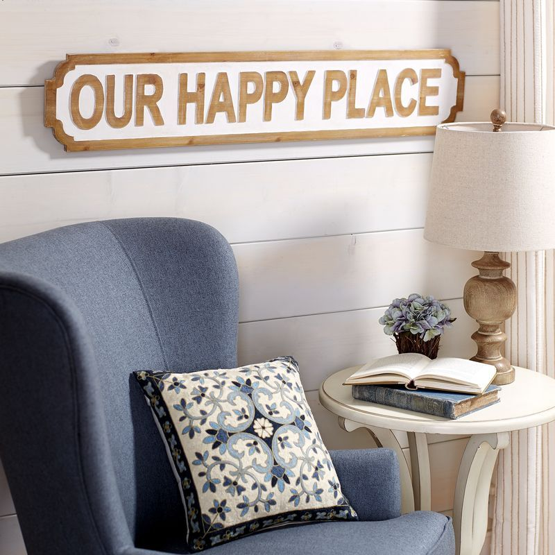 Our Happy Place Wall Decor Pier