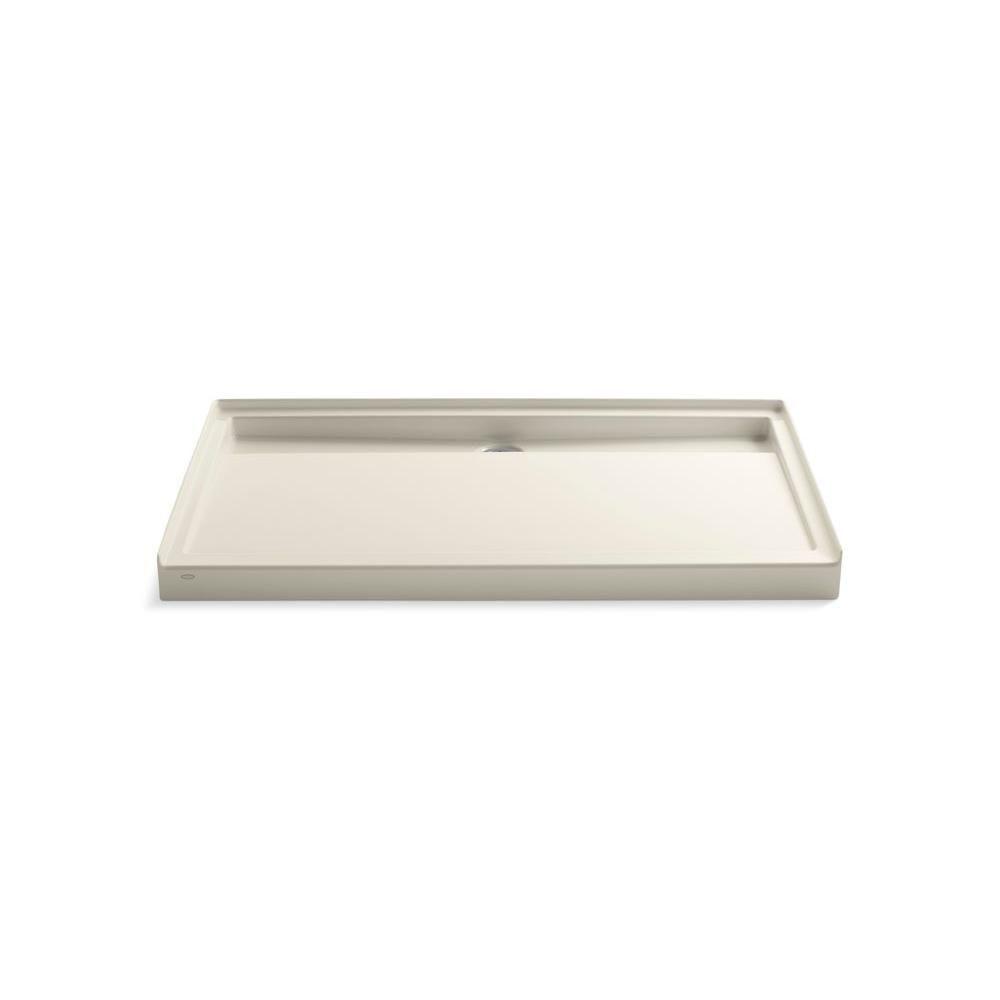 Kohler Groove 60 In X 36 In Acrylic Shower Base In White K 9928