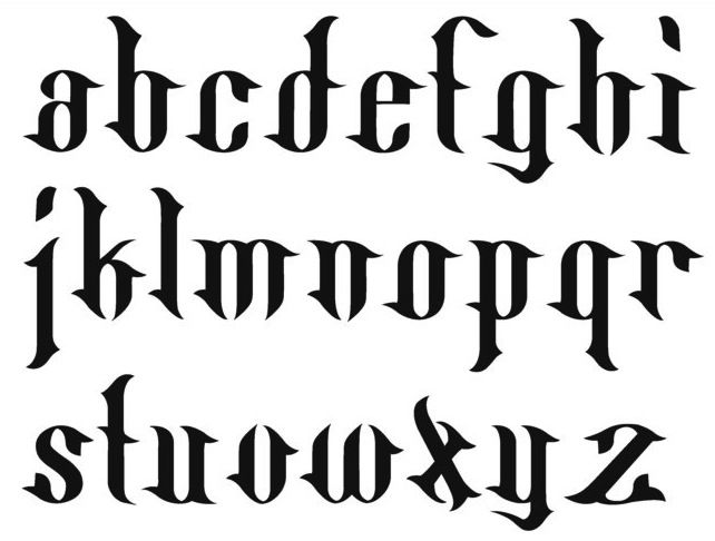 Tattoo Fonts | Tattoo Fonts | Pinterest | Fonts, Tattoo and Font ...