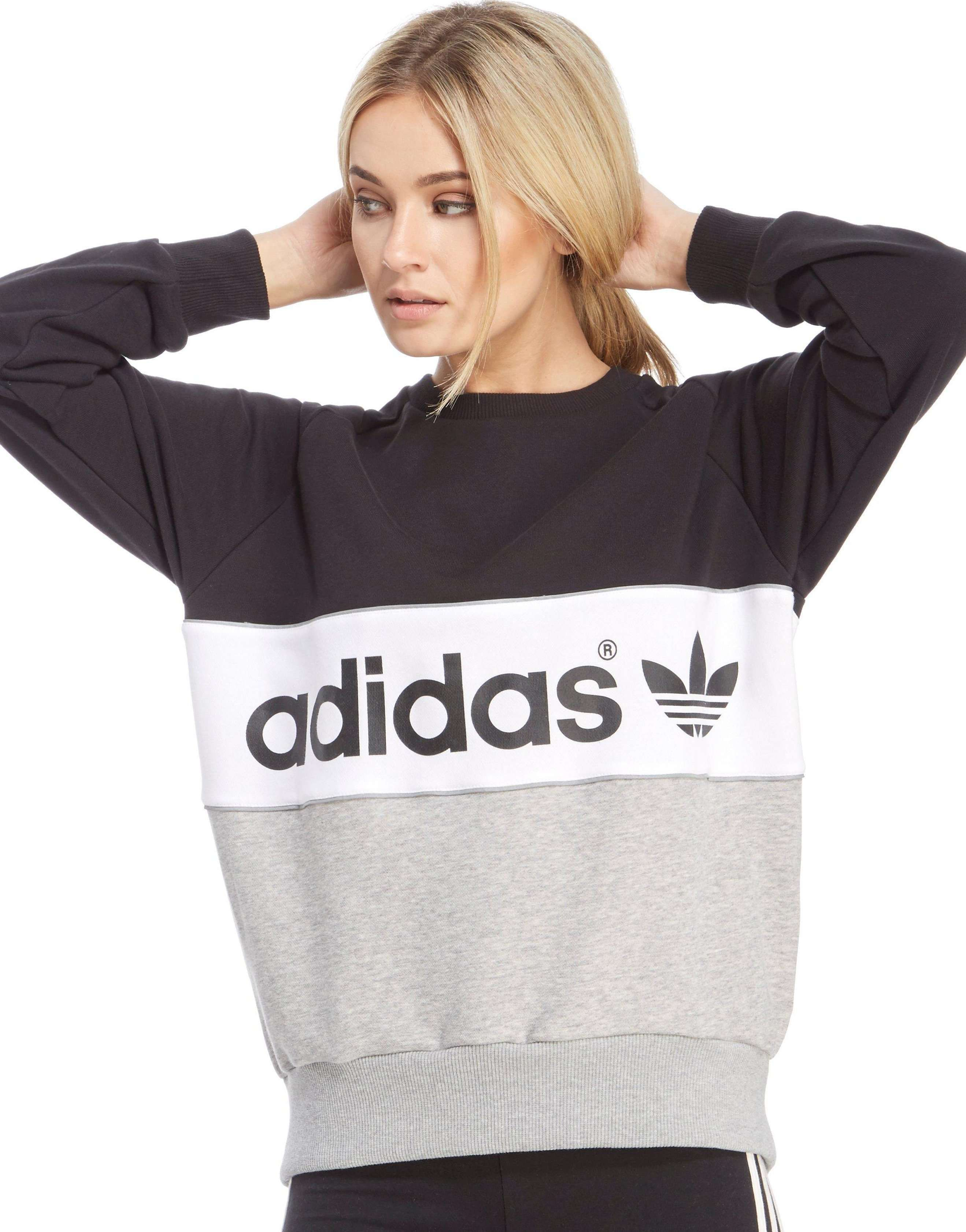 adidas Originals Authentic Crew Sweatshirt - Shop online for ...