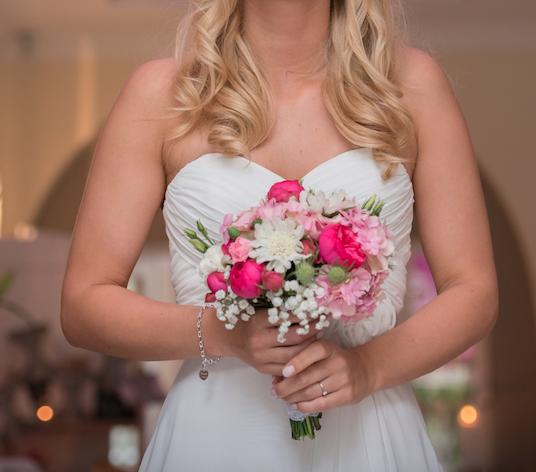 Wunderschoner Brautstrauss Einer Bezaubernden Juli Hochzeit 3