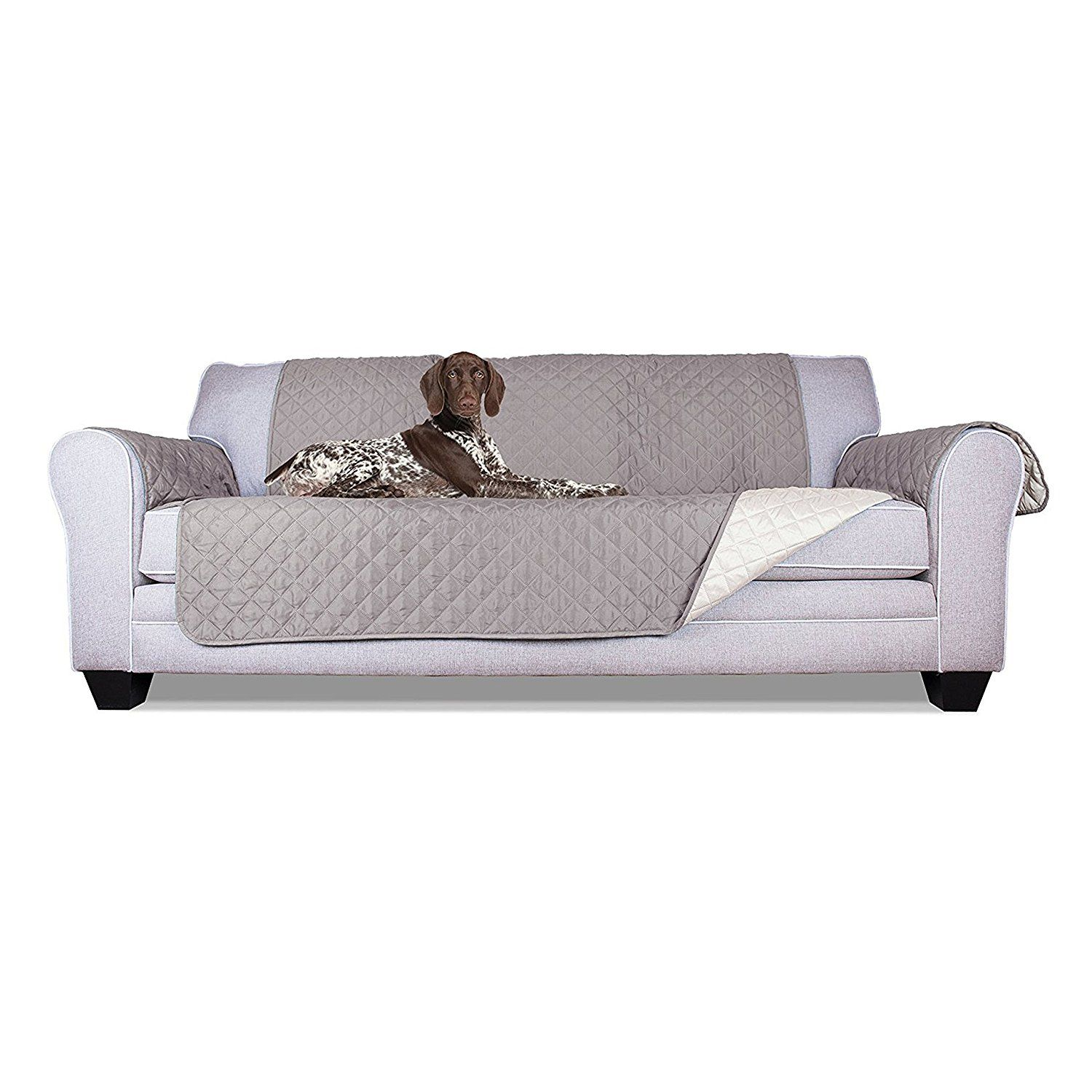 ALEKO PSC03G 110 x 71 Inches Pet Sofa Slipcover Spill Scratch Pet