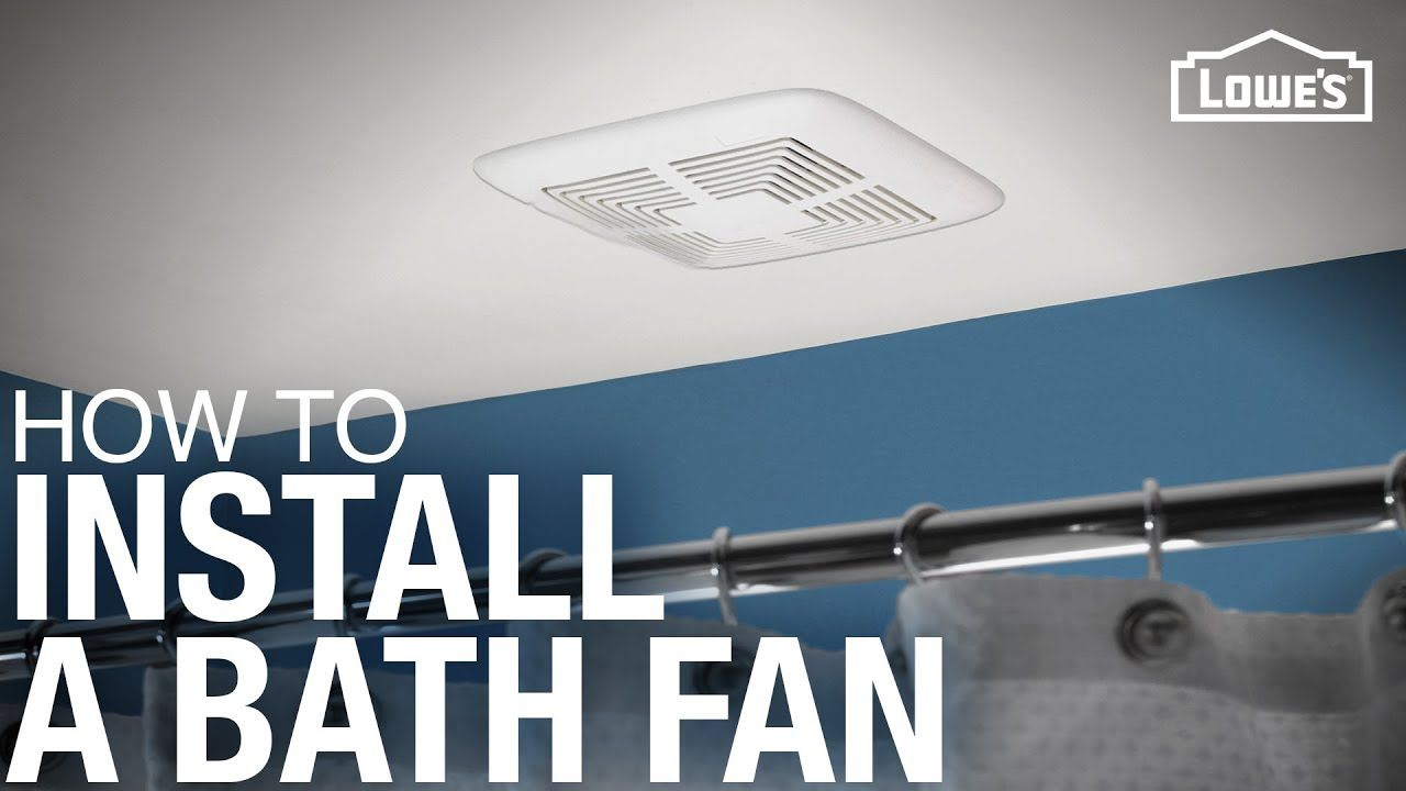 How To Replace And Install A Bathroom Exhaust Fan Youtube Bathroom Exhaust Bathroom Exhaust Fan Replacing Bathroom Fan
