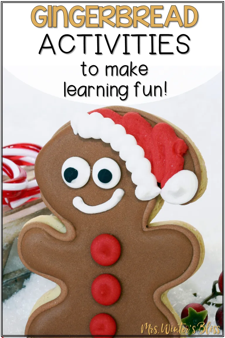 Gingerbread Activities For The Classroom Gingerbread Activities Gingerbread Man Activities Writing Crafts [ 1152 x 768 Pixel ]