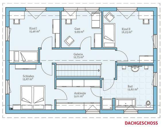 Fertighaus und Energiesparhaus Variant 25183 DG Haus