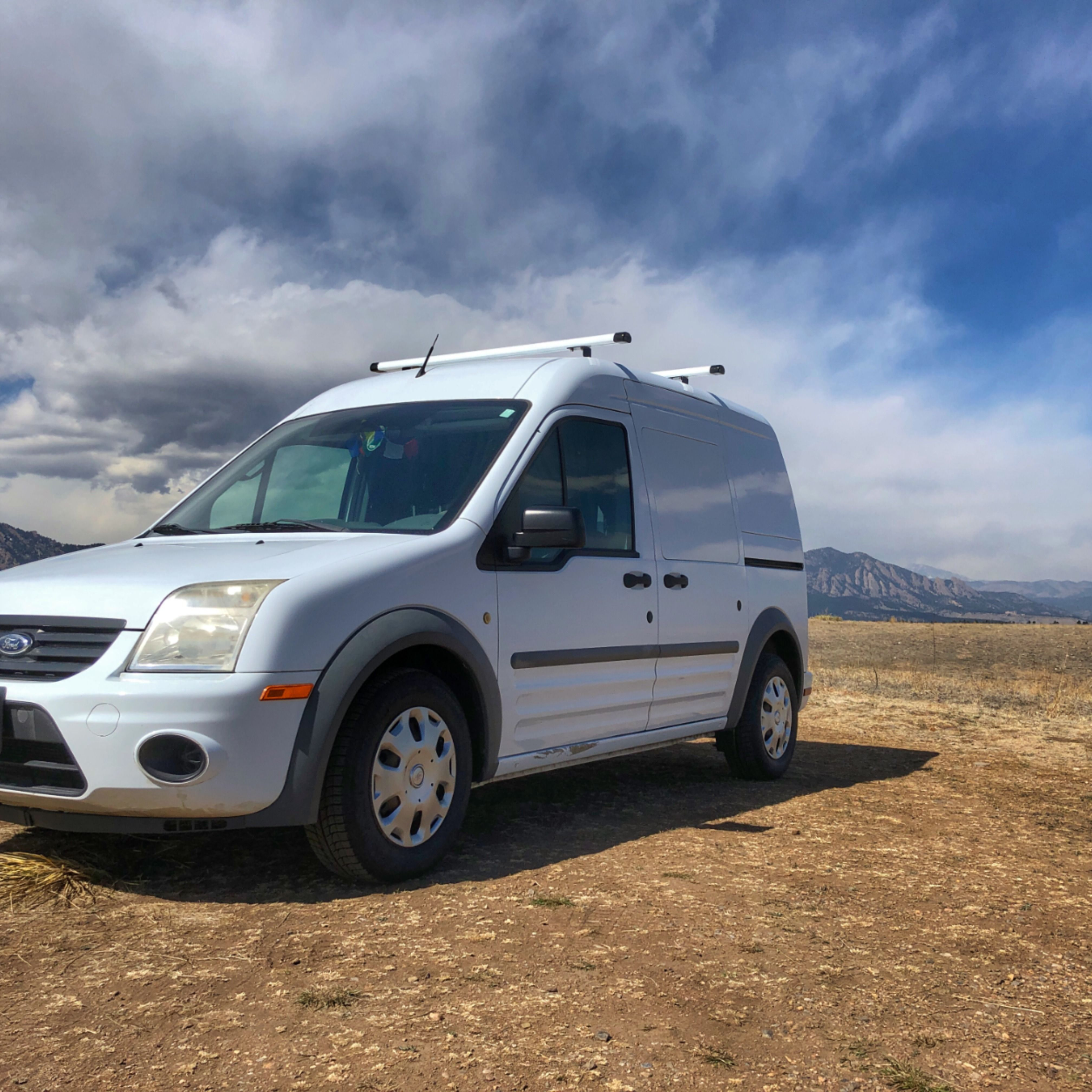 Ford Transit Connect Simple Cargo Van Camper Conversion Ford Transit Connect Camper Ford Transit Ford Transit Camper Conversion