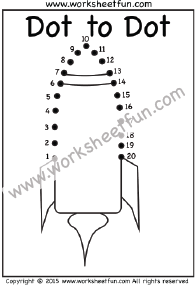 Dot To Dot Numbers 1 20 Ten Worksheets Owl Duck Swan