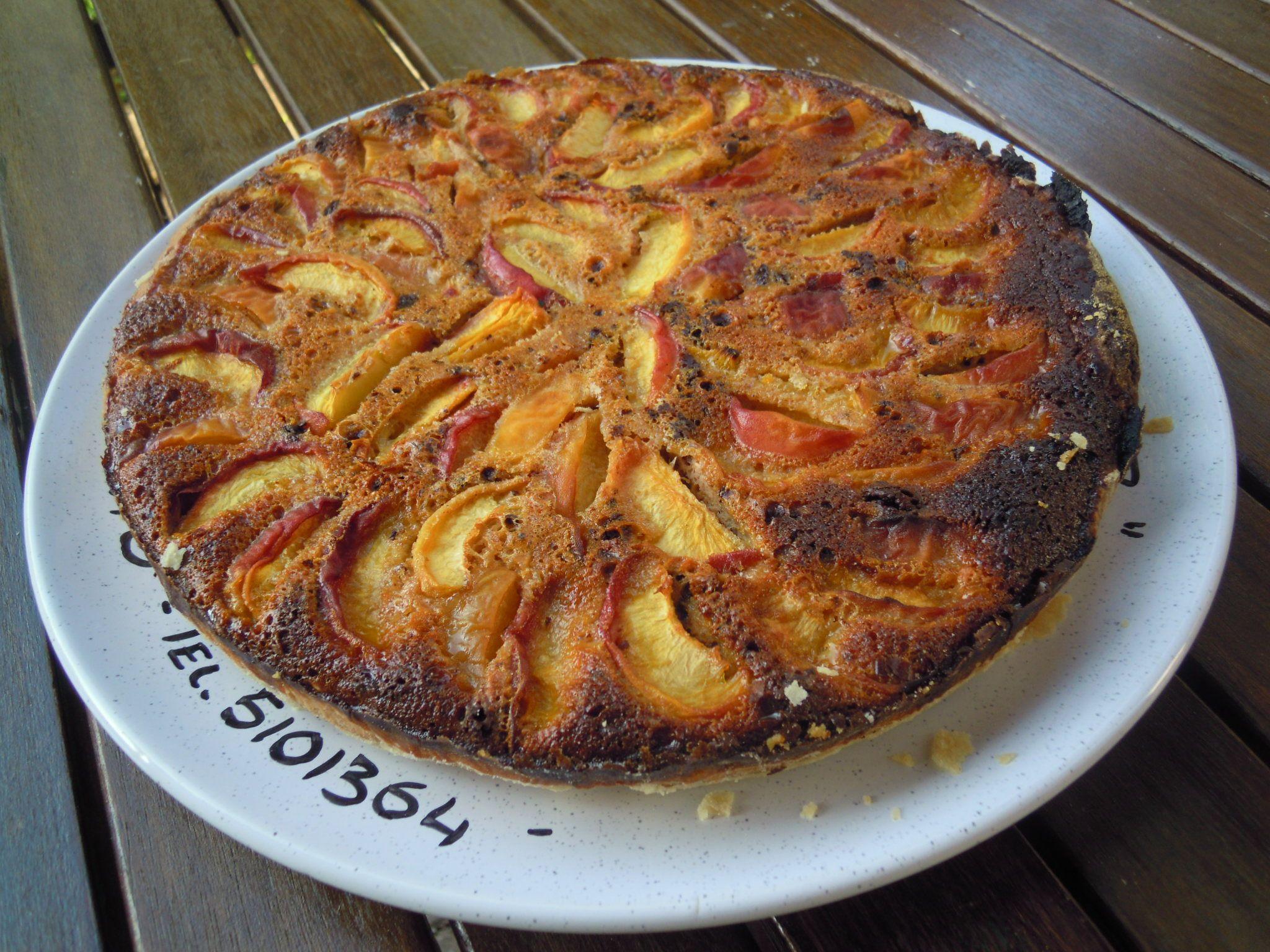 Peach cake, veeeery good!!!