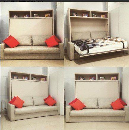 Шкаф Кровать трансформер диван.+3. МеТра. Мебель