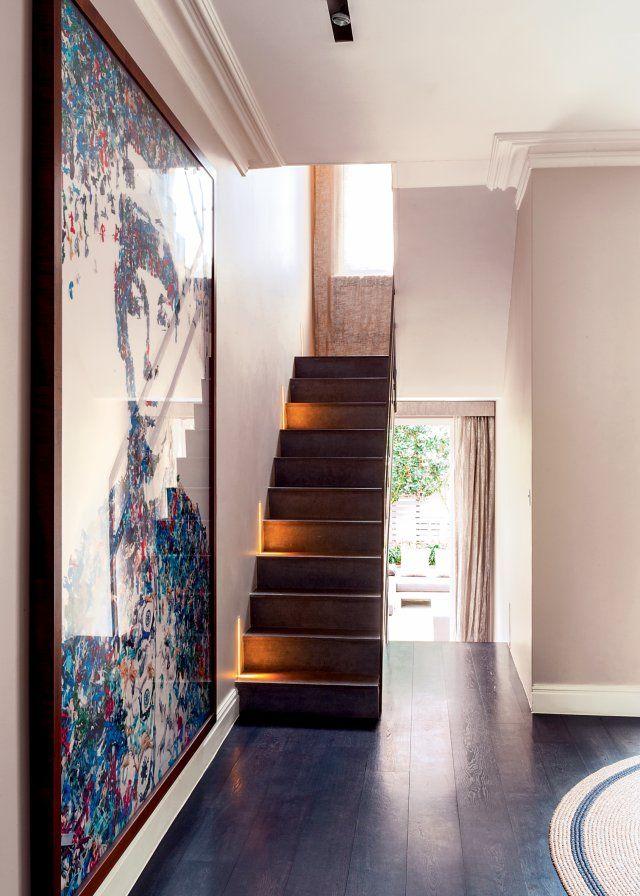 Une maison chic et familiale à Notting Hill | Escalier étroit ...