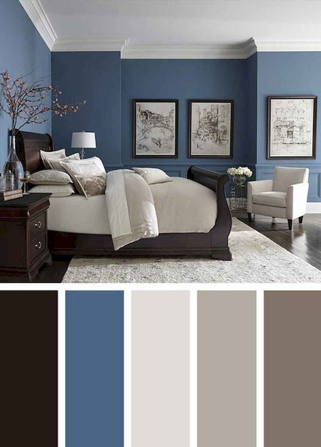 61 Simple Bedroom Decorating Ideas With Beautiful Color Browsyouroom Beautiful Bedroom Colors Bedroom Color Schemes Master Bedroom Colors Beautiful bedroom paint combination