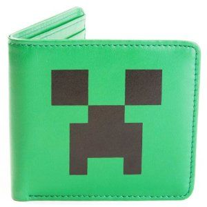 Amazon.com: Minecraft Creeper Wallet: Toys & Games