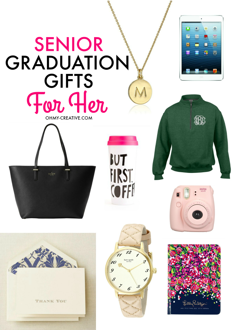 senior graduation gifts for her | food * family *home diy & fun