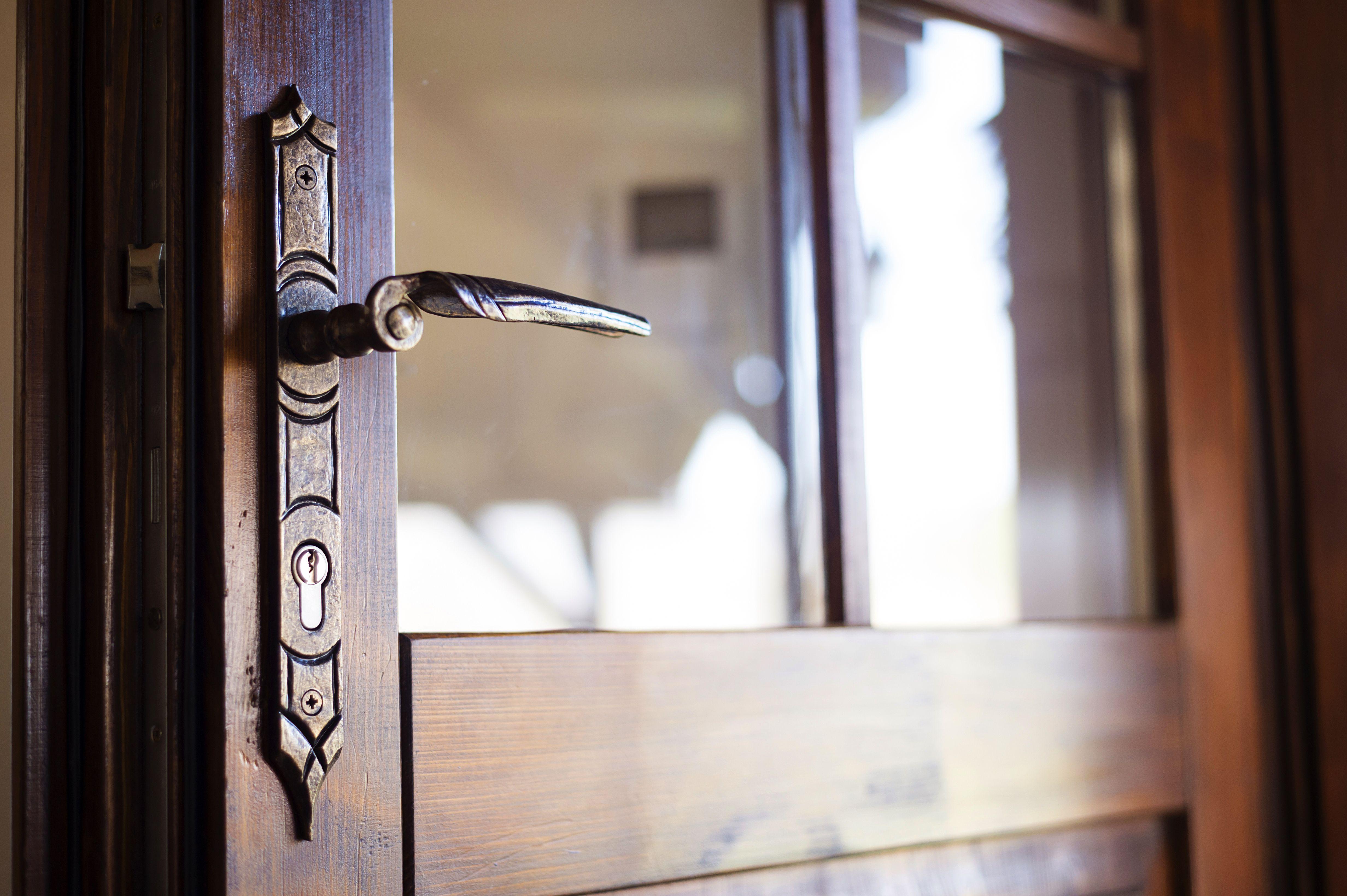 Tips For Fixing A Door That Has Swollen Rwc Door Handles Old Door Doors
