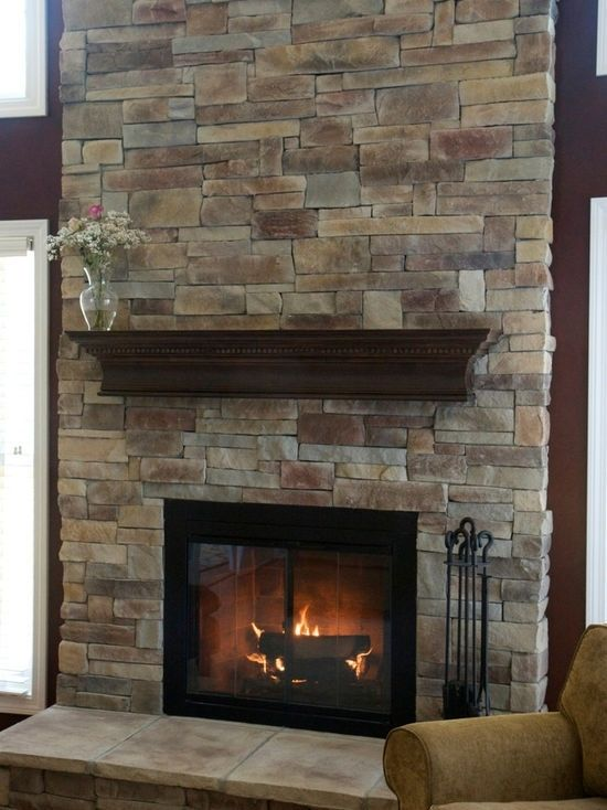 Image Result For Fireplace Remodel Stone Over Brick Brick Fireplace Makeover Home Fireplace Fireplace Remodel