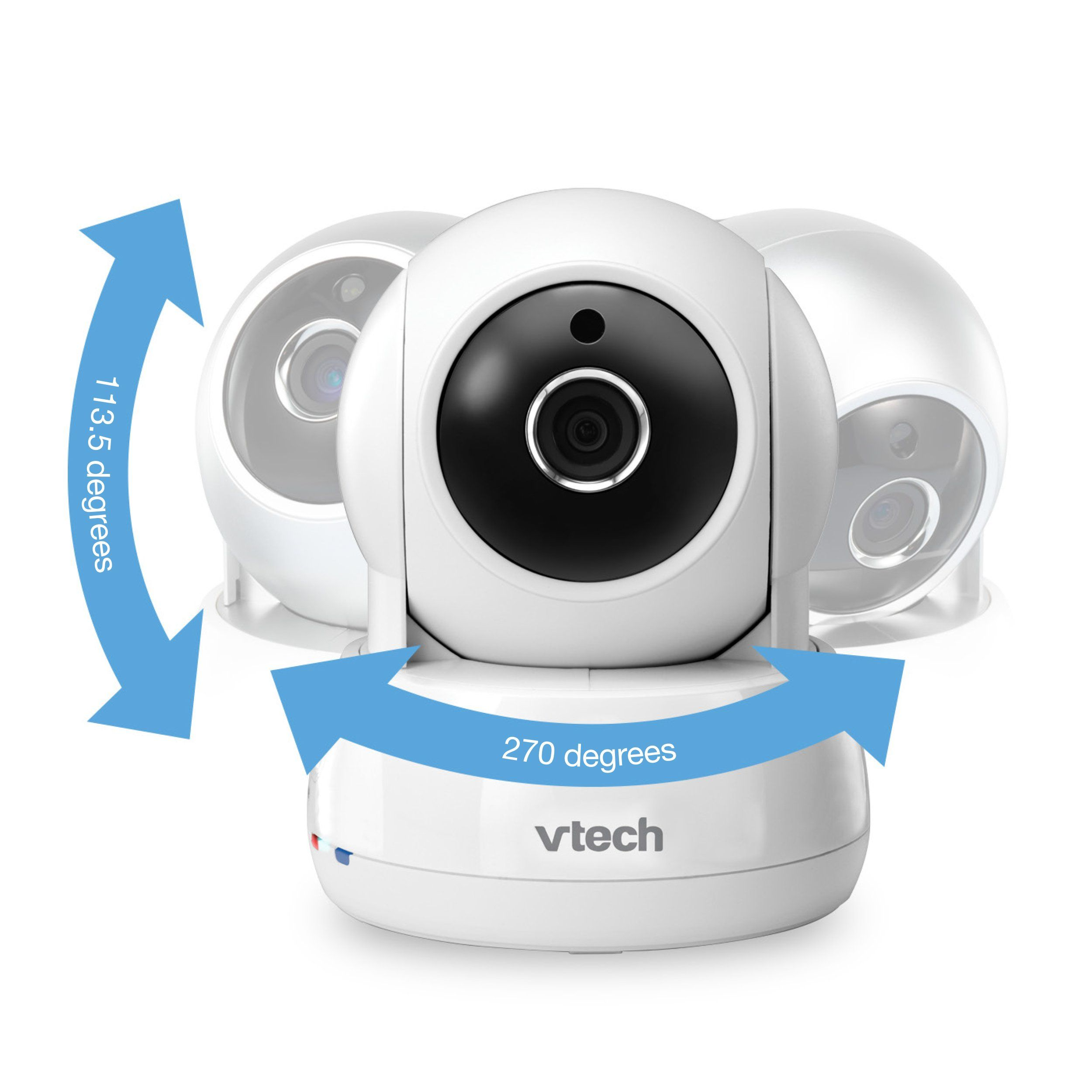 VTech VM991 Wireless WiFi Video Baby Monitor with Remote