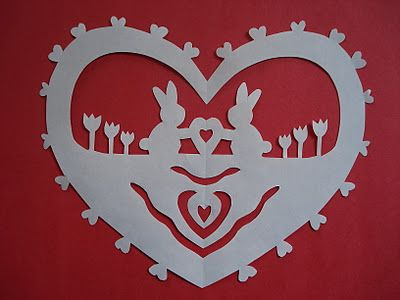 Wycinanki (a traditional paper-cutting craft from Poland)