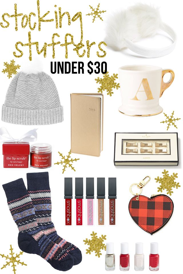 Gift Guide: Stocking Stuffer Ideas Under $30 | Christmas ...