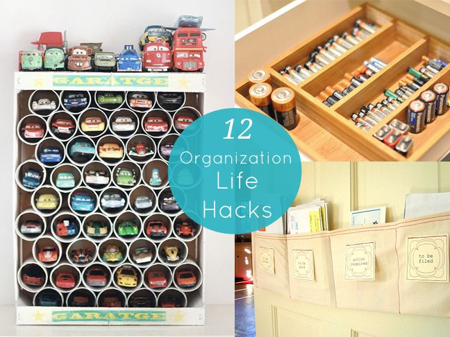 Organization Hacks Part - 35: 12 Organizational Life Hacks - Momtastic