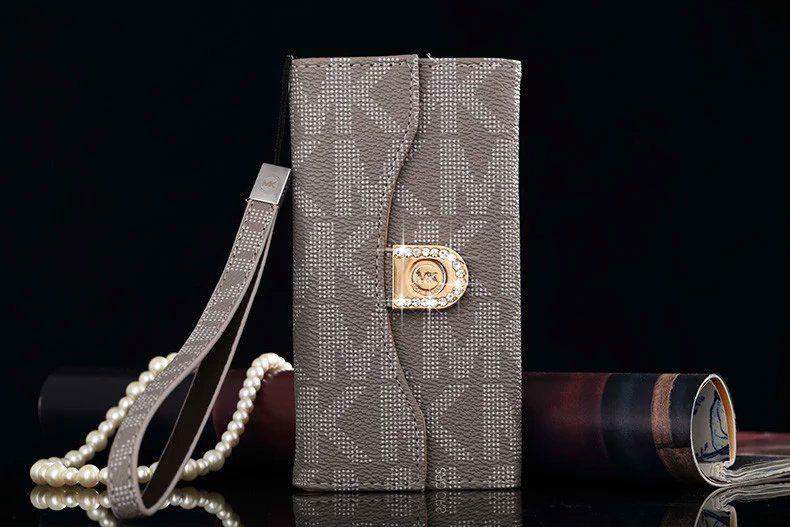 Michael kors iphone 6 6s plus tri fold flip wallet case for Housse iphone 6 michael kors