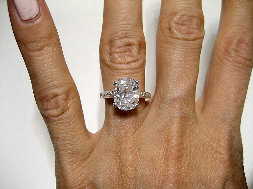 reserved371ct estate oval diamond solitaire engagement ring ring anniversary ring - Estate Wedding Rings