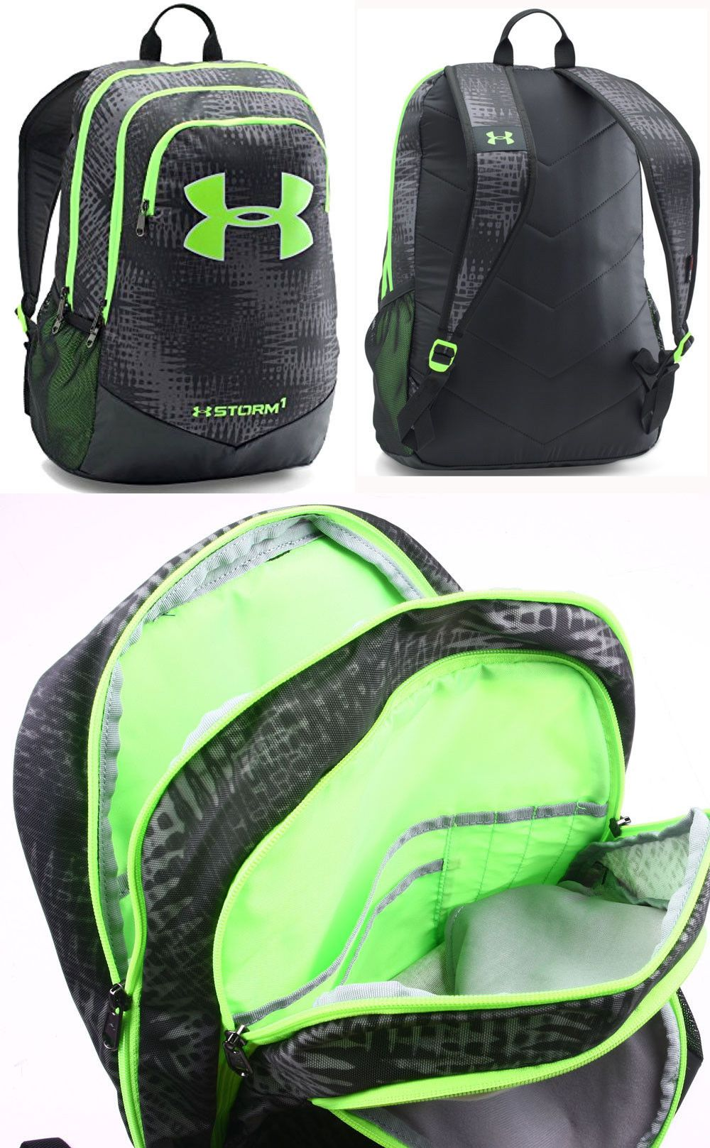 Backpacks and Bags 57882  Under Armour Boys Ua Storm Scrimmage Backpack  1277422 Graphite Black -  BUY IT NOW ONLY   44.99 on eBay! 2dc9a6042c3c8