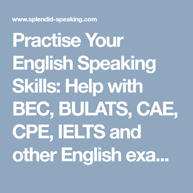 Welcome to Learning English