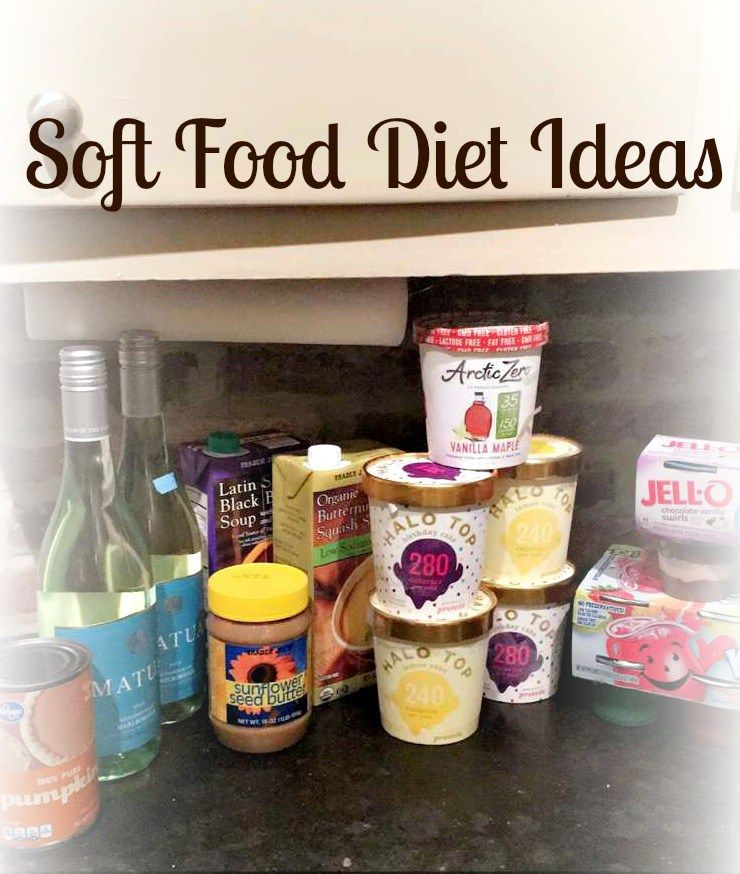 Soft Food Diet Ideas Soft food, Soft foods diet, Food