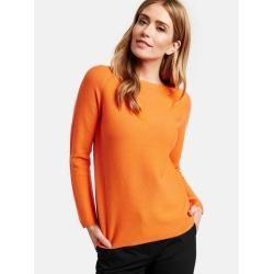 Photo of Pullover aus reiner Baumwolle Orange Gerry WeberGerry Weber
