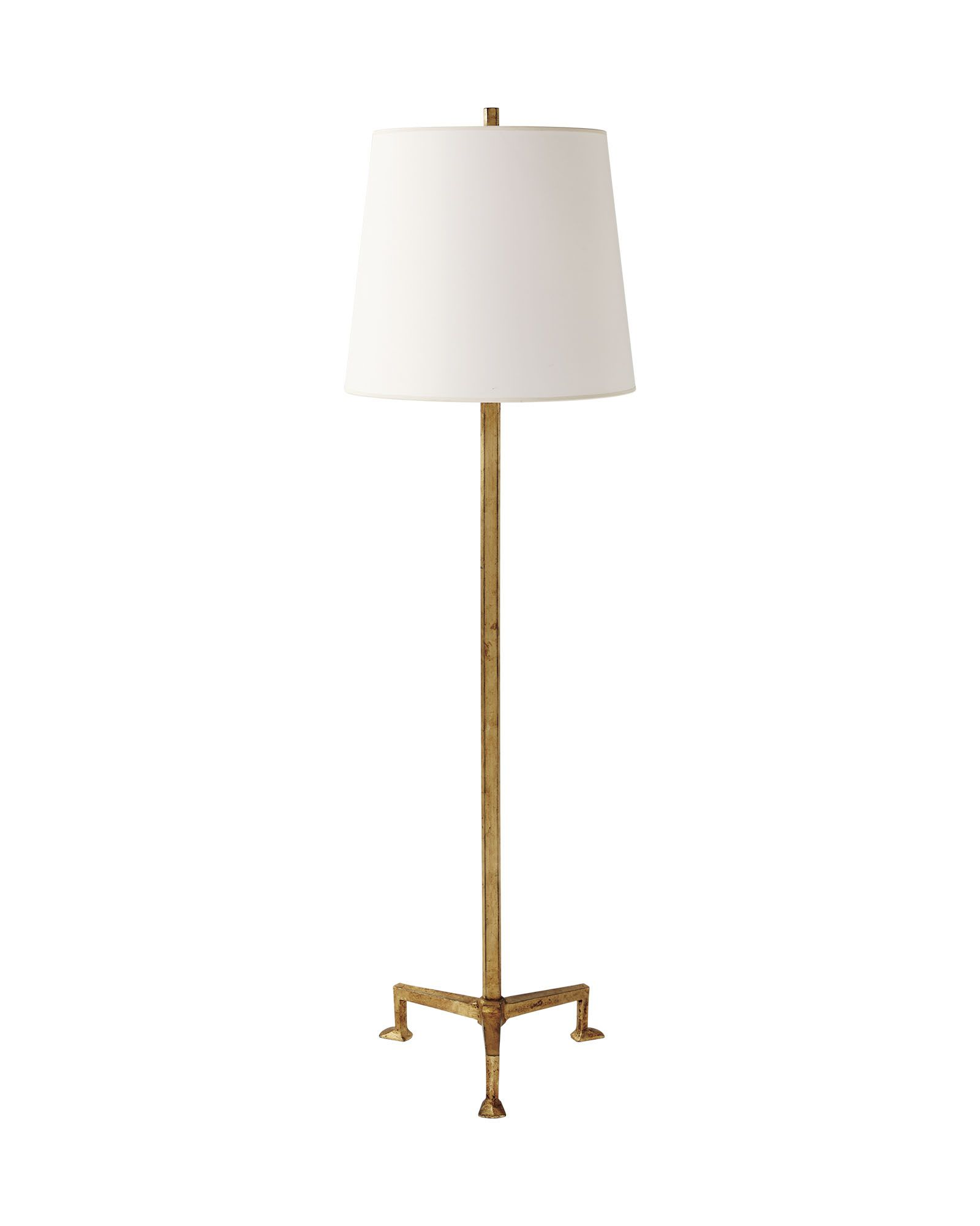 Harrington Floor Lamp | Floor lamp, Candleholders and Iron