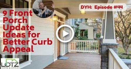 9 Front Porch Update Ideas for Better Curb Appeal #frontporchideascurbappeal 9 Front Porch Update Ideas for Better Curb Appeal #farmhouse #frontporchideascurbappeal