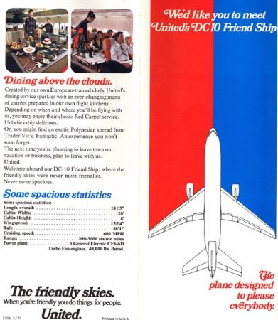 1971 - DC-10 introduction brochure