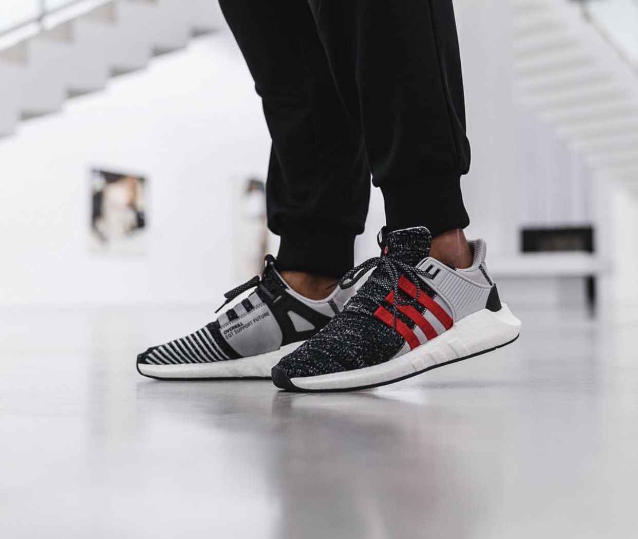 the latest 42f9b 16f4c Adidas x Overkill consortium release. EQT Support 9317