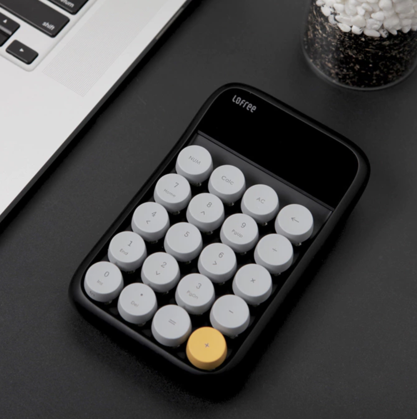 Digit Number Pad Wireless Retro Mechanical All In One Calculator Design Id Design Design