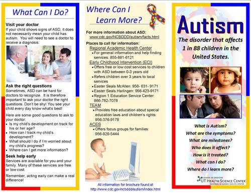 Autism Pamphlet For Parents Google Search Projects To Try