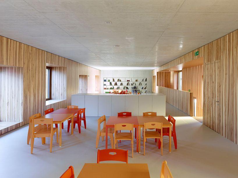 Image 10 Of 17 From Gallery Pre Post School Savioz Fabrizzi Architectes Photograph By Thomas Jantscher