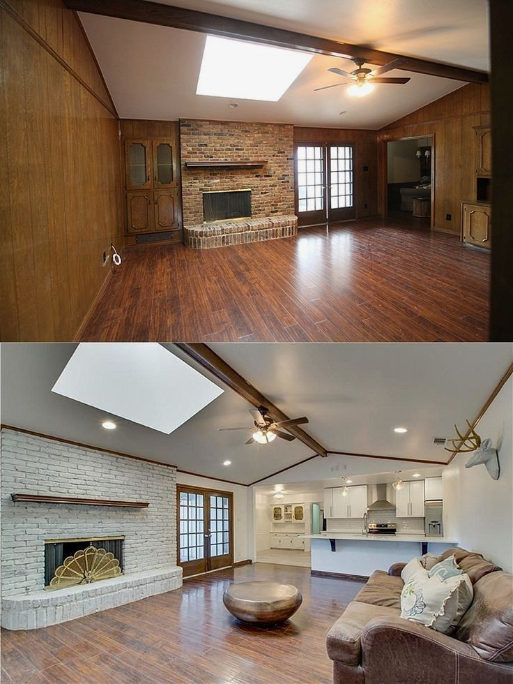 Entire house before and after pictures | Ranch house ...