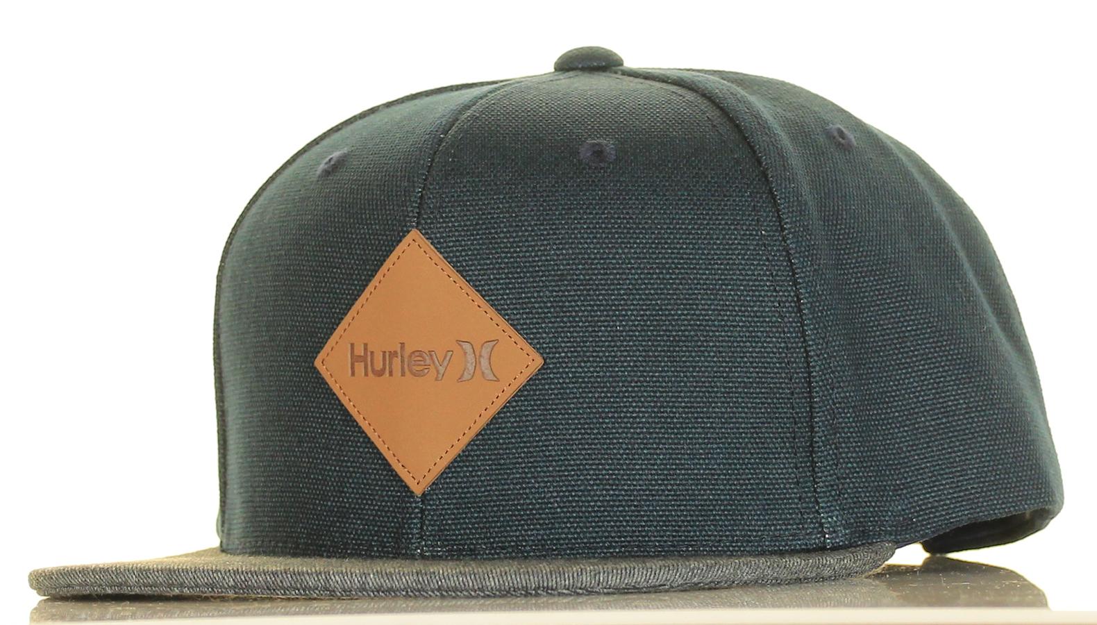 6b0b2e47e96 Inseption - Mens - Hurley - Macro Snapback Hat - Denim
