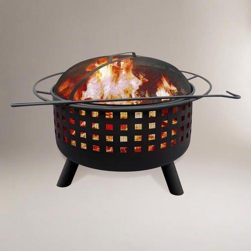 Open Weave Fire Pit / Cost Plus World Market >>  #WorldMarket Movie Night Giveaway Sweepstakes - http://sweeps.piqora.com/worldmarket