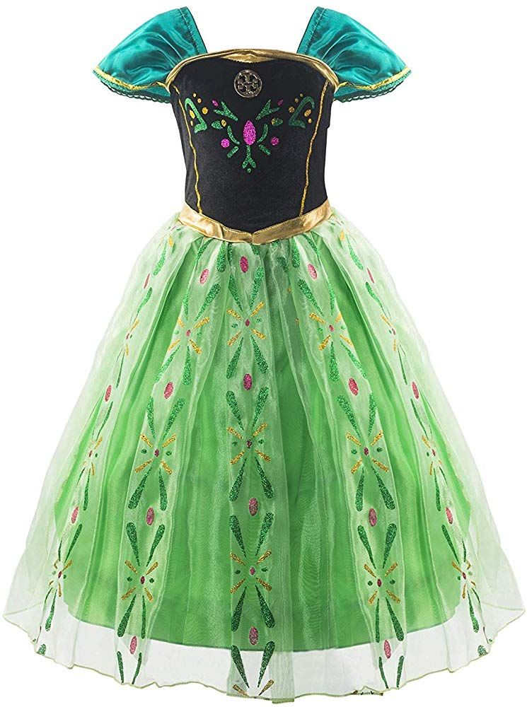 Dressy Daisy Girls Ice Princess Costumes Halloween Fancy Party Dress Long Sleeve Sequined