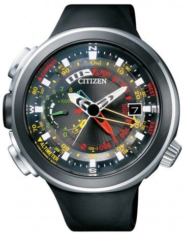 f572b755b3e Citizen BN4035-08E Cirrus Eco-Drive Promaster Metric Altichron Duratect  Titanium DLC Japan Watch