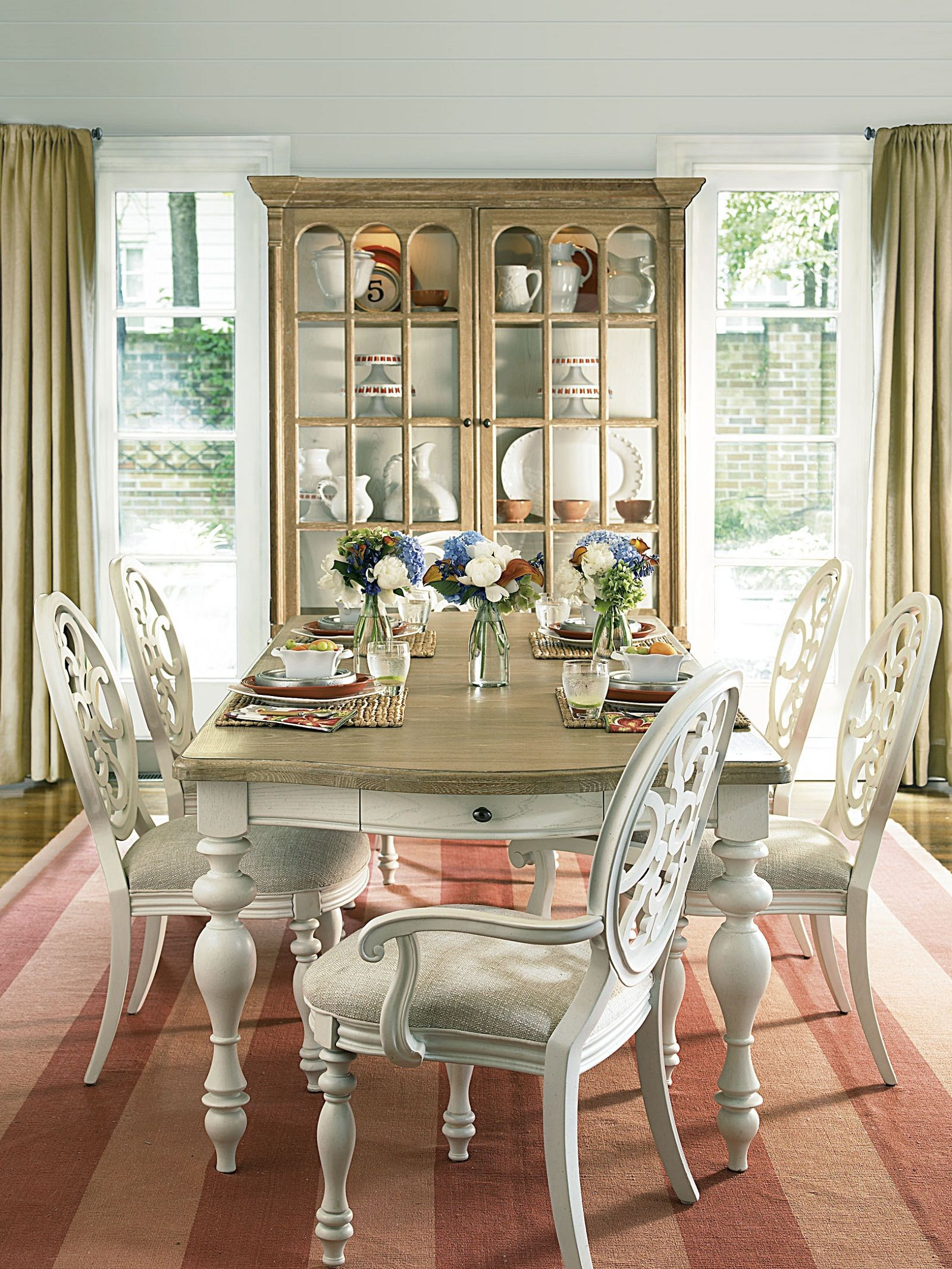 Better Homes and Gardens American Cottage Rectangular Dining Table