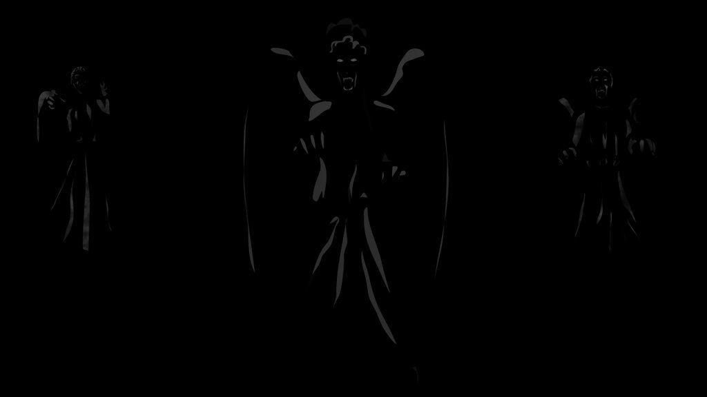 Weeping Angels Wallpaper 5 by DeathByTeaCozy.deviantart.com on @deviantART