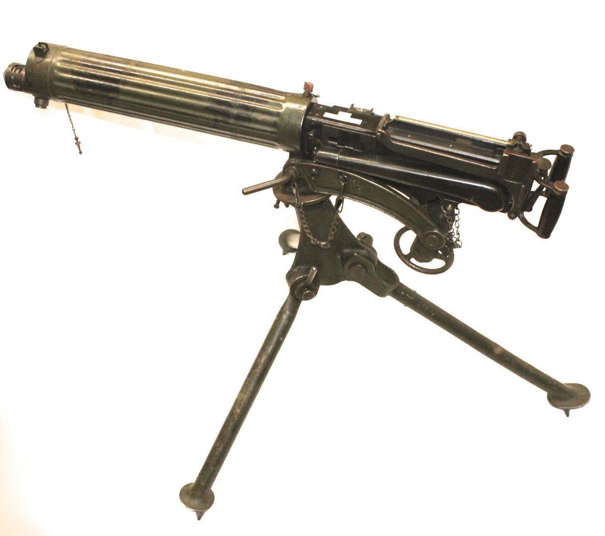 WW1 Weapons Machine Guns | WW1 British Vickers Machine Gun